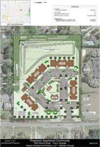 Creekwood Site Plan
