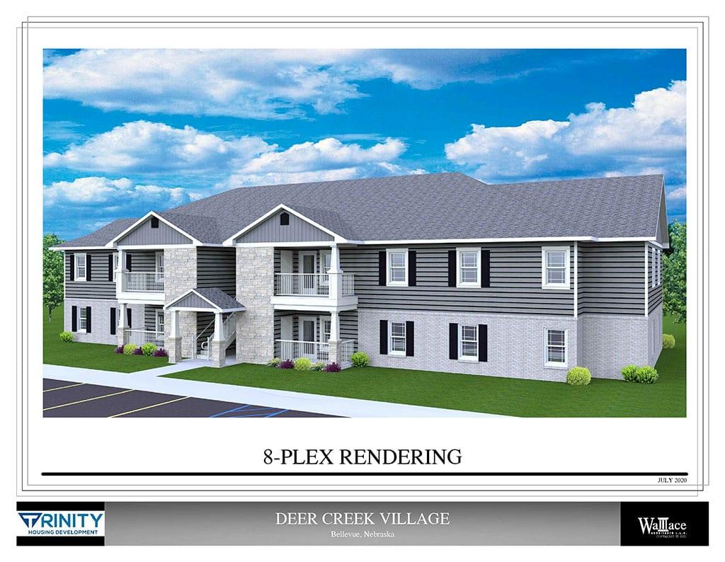 Deer Creek - 8-Plex Rendering