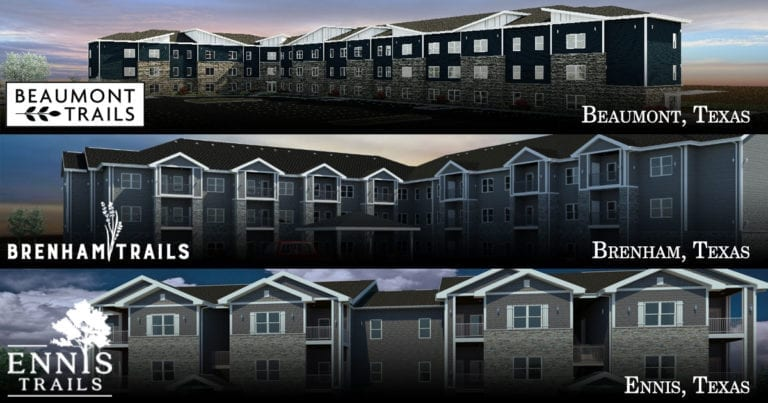 Trinity Housing Development is honored to announce the award of three LIHTC developments in Texas from the 2020 round!